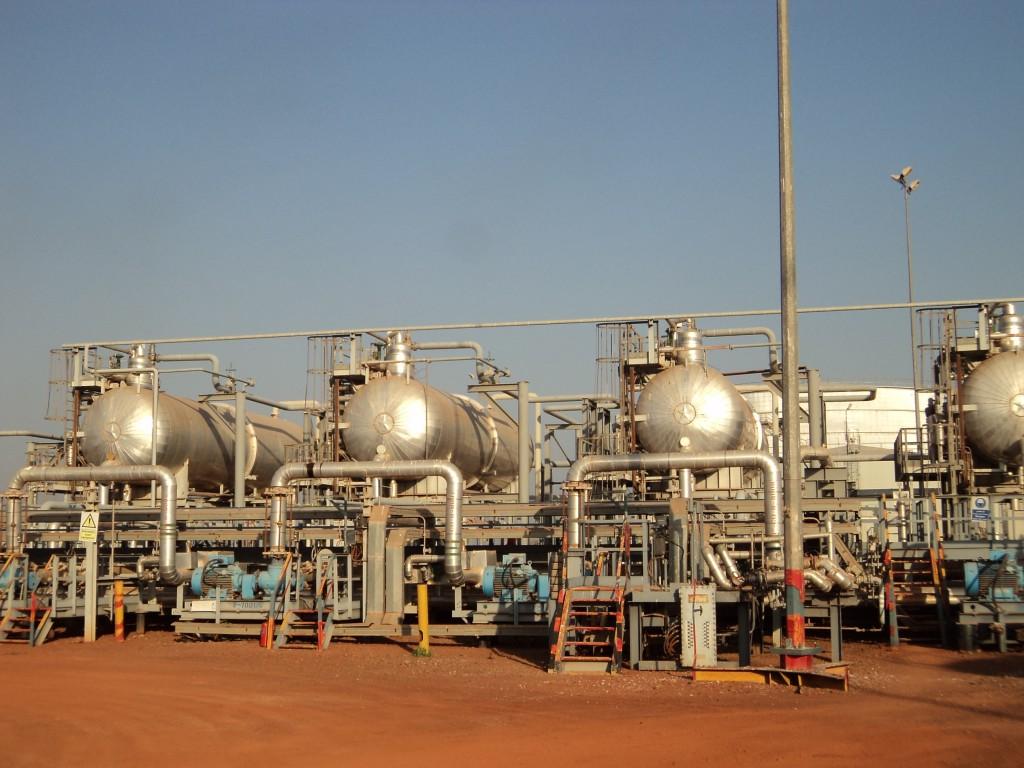 Bentiu Oil Storage